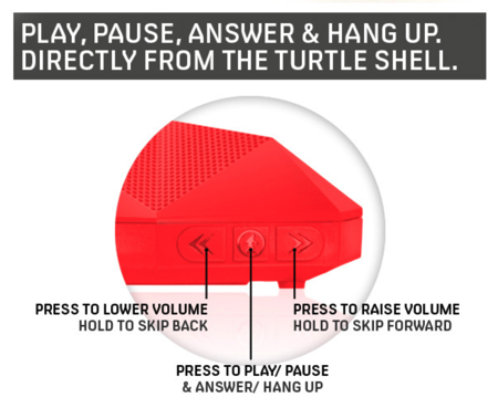 Turtle Shell Boombox