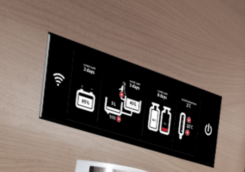 FRODO is an information and control command spot for your camper or caravan trailer.