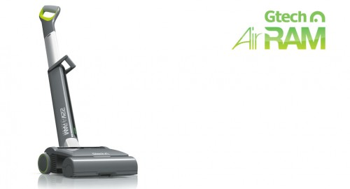 GearDiary Gtech AirRAM Vacuum Cleaner Is Light, Clean, Cordless, and Longer Lasting