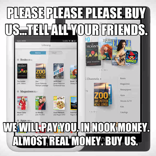 GearDiary Barnes & Noble Has Forgotten What Makes the NOOK Interesting