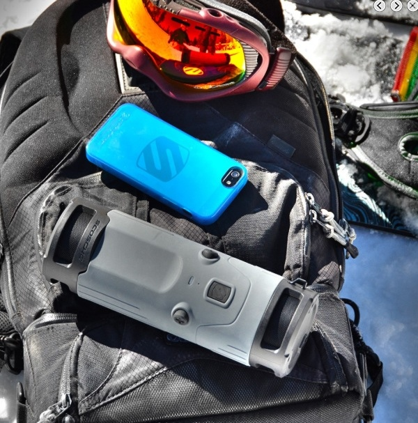 GearDiary The Scosche boomBOTTLE Is a Ruggedized Portable Speaker for Tunes on the Go