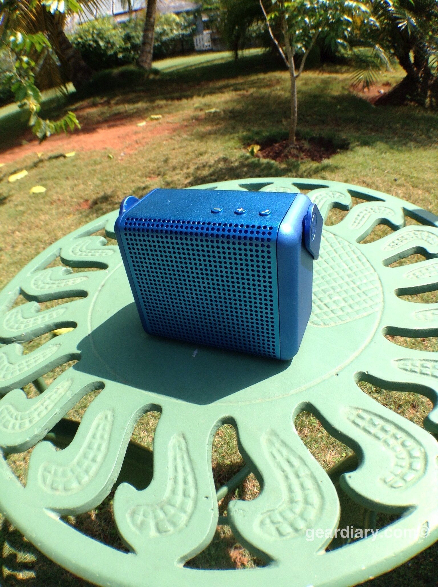 GearDiary MiPow Boom Bluetooth Speaker Review