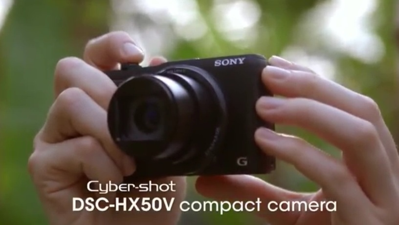 GearDiary Sony's Cyber-shot HX50V: A 30x Optical Zoom in a Small and Light Camera