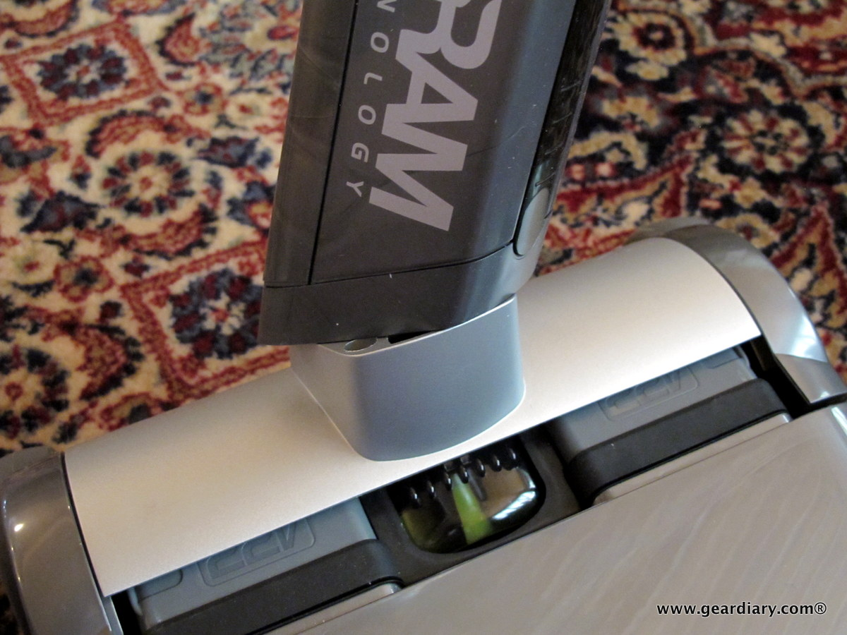 GearDiary The Gtech AirRAM Cordless Vacuum Cleaner Review
