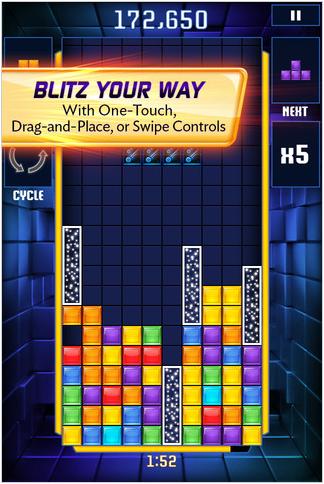 GearDiary Tetris Blitz for iPhone Review