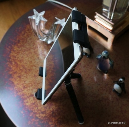 GearDiary iStabilizer tabMount Holds Your Tablet Right
