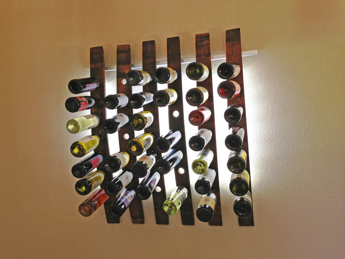 Lumi Wine Wall Looks to Upcycle Used Wine Casks with Kickstarter Campaign