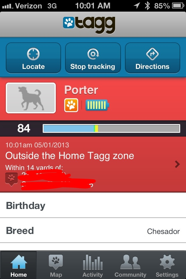 Tagg the Pet Tracker