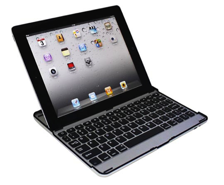 GearDiary USB Fever Introduces Aluminum Bluetooth Keyboard For iPad