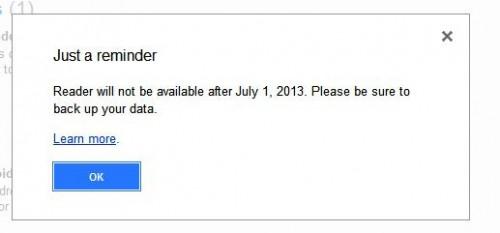 Google Reader Buh-Bye
