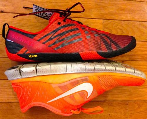 Merrell Vapor Glove Minimal Running Shoe