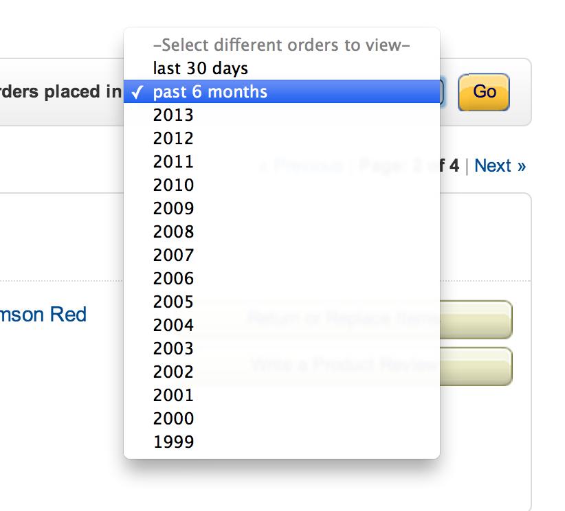 Amazon Orders