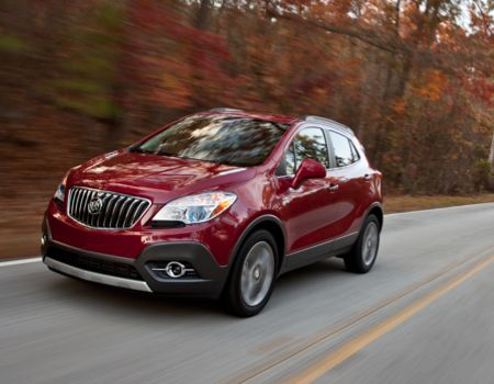 2013 Buick Encore is the new 'Cute-Ute' on the Block