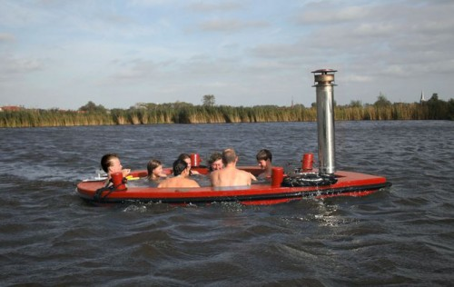 Why Settle for a Stationary Hot Tub When You Can Set Sail with the HotTug!