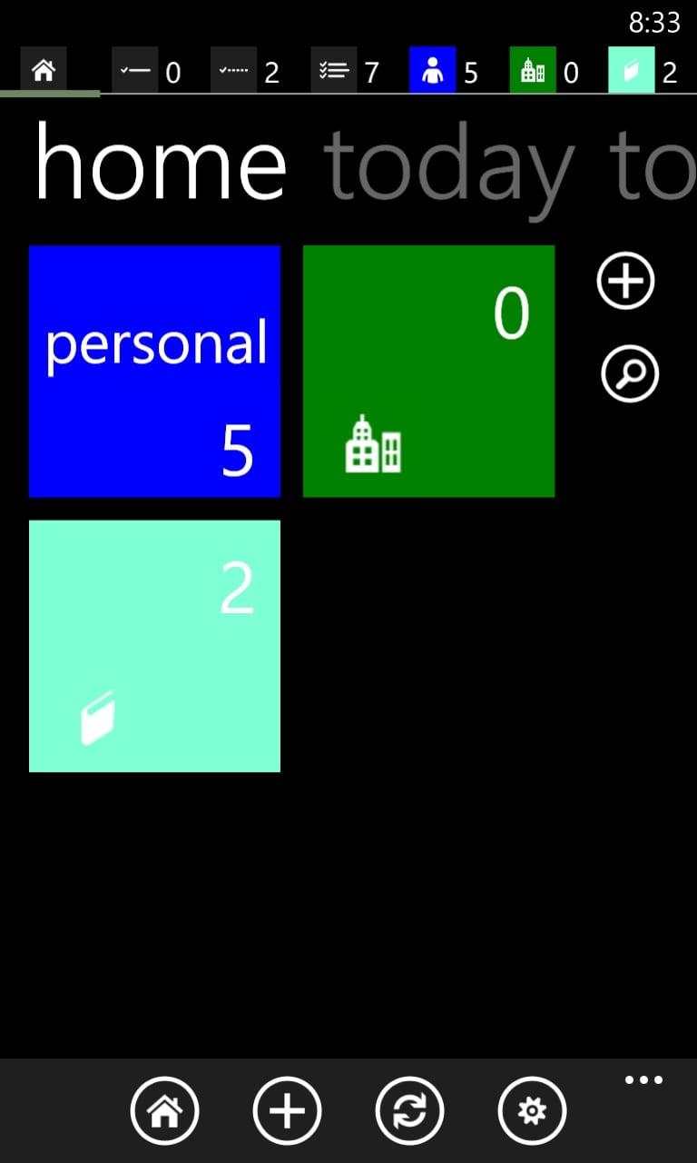 Windows Phone Apps Productivity