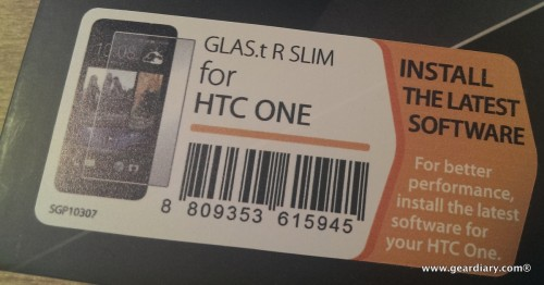 HTC One Screen Protector GLAS.tR SLIM Premium Tempered Glass