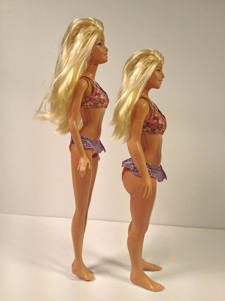 GearDiary What a More Realistic Barbie Doll Might Look Like