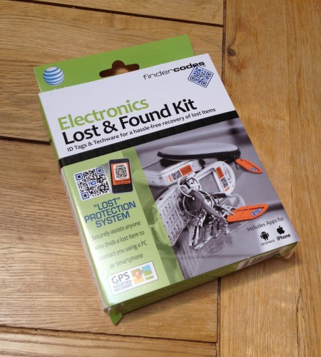 GearDiary AT&T FinderCodes Electronics Lost & Found Kit Review - Lose (and Find) Yourself
