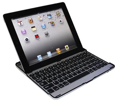 Aluminum Bluetooth Keyboard for iPad