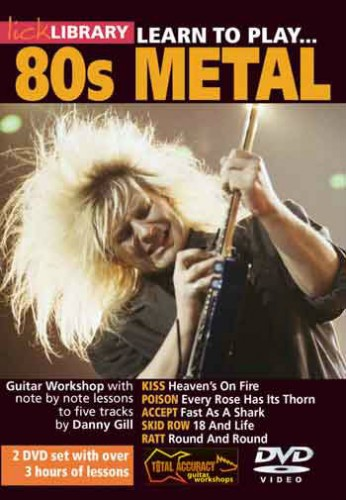 Learn to play 80s metal