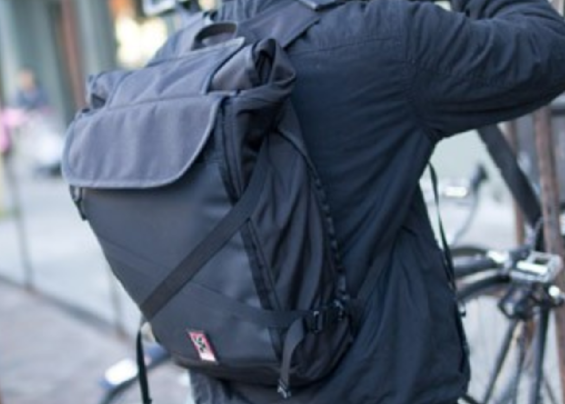 GearDiary Chrome Bravo Night Backpack Lets You Safely Carry Your Gear