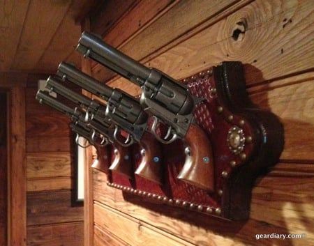 Six-Shooter Coat Rack