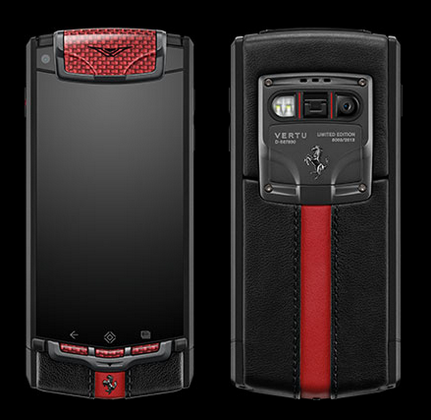 GearDiary Vertu Ferrari Ti Limited Edition - Inspired by the Ferrari F12 Berlinetta