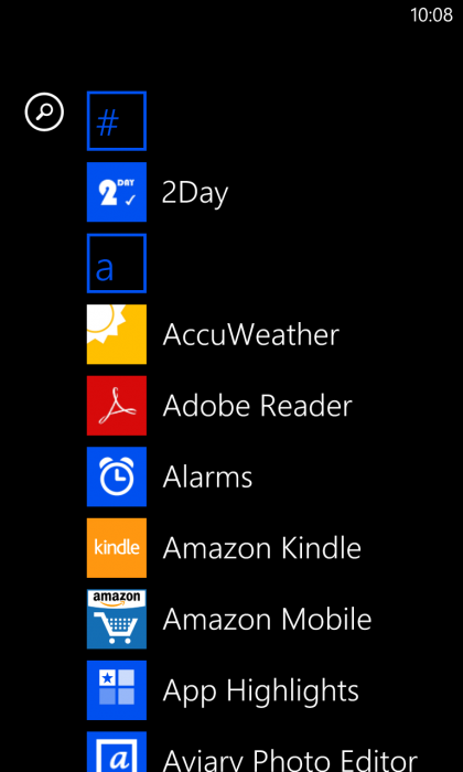 Lumia 928 Windows Phone