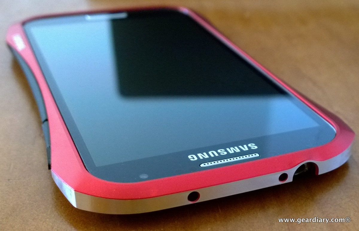 GearDiary DRACOdesign HYDRA Ducati Aluminum Bumper for Samsung Galaxy S4 - Adds Sporty Good Looks and Protection