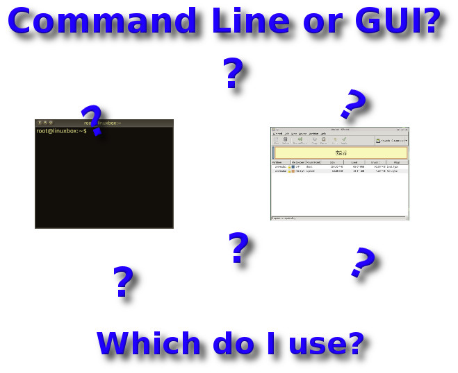 GearDiary When to Use the Command Line and When to Stick to a GUI