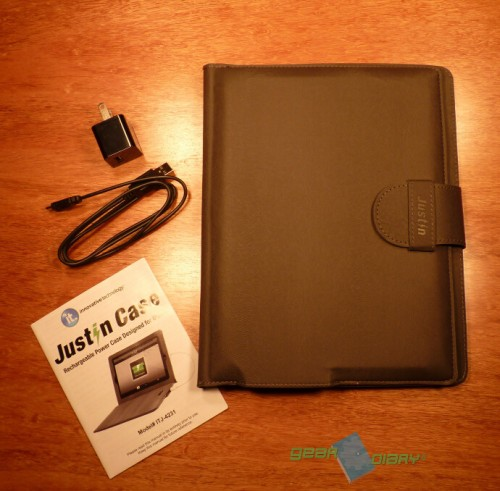 Justin Case Rechargeable iPad Battery Case