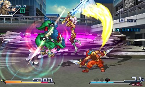 GearDiary Project X Zone Review for Nintendo 3DS