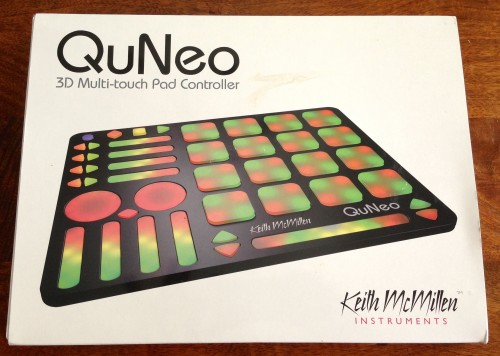 GearDiary Keith McMillen QuNeo 3D Pad Controller Review