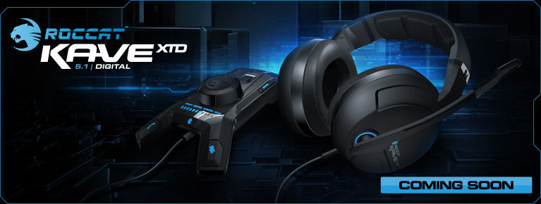 GearDiary Roccat Unleashes the XTD Cave 5.1 Gaming Headset at GamesCom!