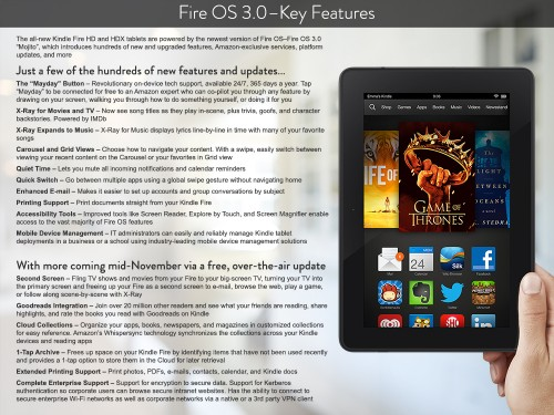 Amazon Fire OS 3 Mojito
