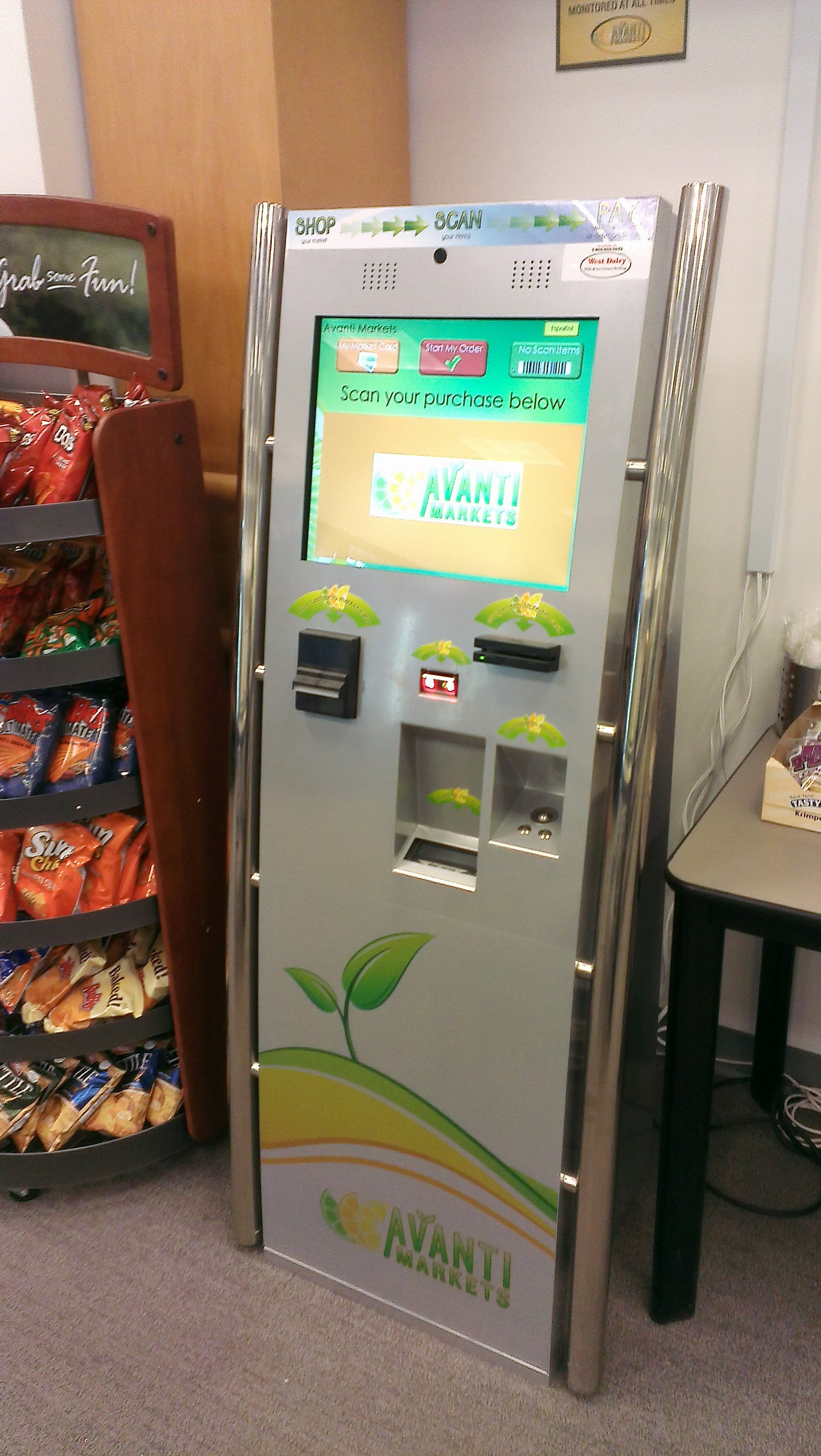 GearDiary The Hidden Linux of the Week Is a Vending Kiosk
