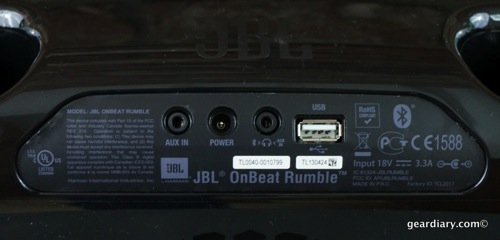 Gear Diary JBL OnBeat Rumble 29 31