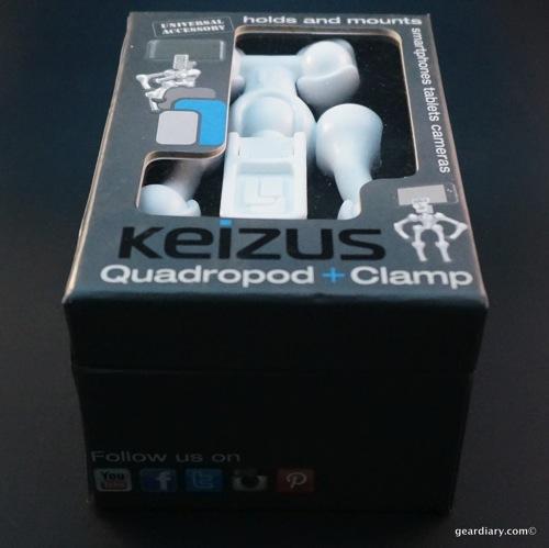Gear Diary Keizus Quadrapod + Clamp 22