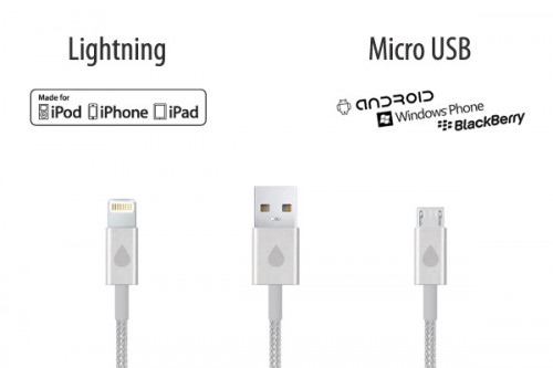 GearDiary JUICIES+ Lightning and Micro USB Power Cables Looking for Funding on Kickstarter Now