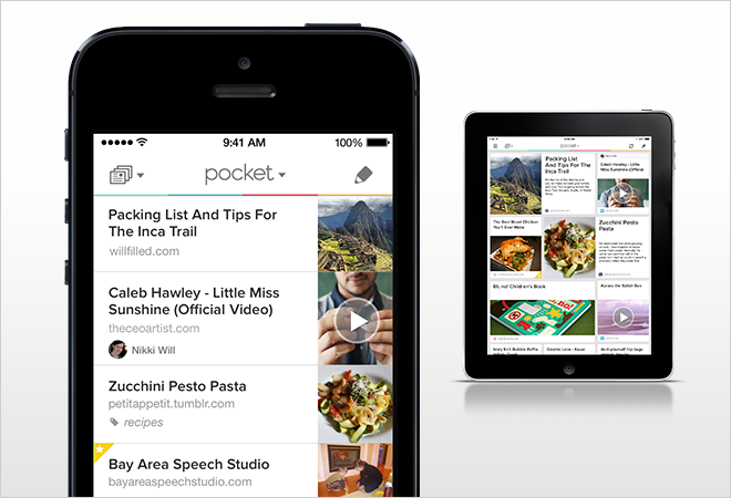 Pocket Update for iOS 7