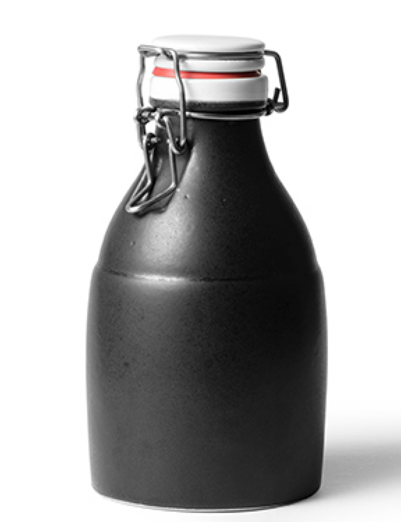 GearDiary Carry Your Beer The Old Fashion Way In a Handmade Ceramic Growler