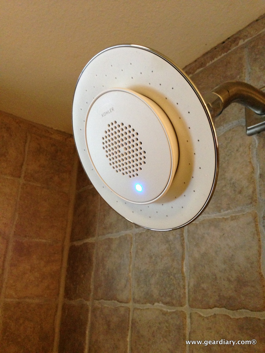 Kohler Moxie Showerhead Wireless Speaker Review Stream