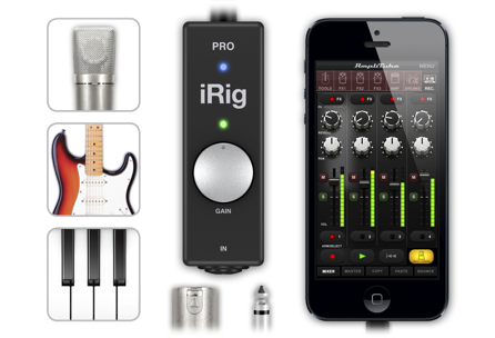 iRig Pro All-in-One Interface for iOS