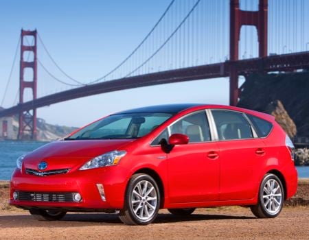 2013 Toyota Prius v for the Growing Green Family
