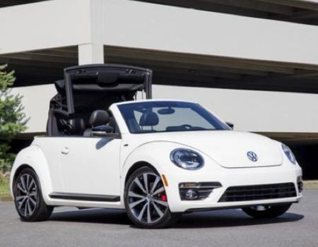 2014 Volkswagen New Beetle Convertible Lets the Good Times Roll