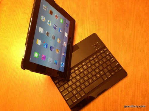 GearDiary iHome Type Pro Bluetooth Keyboard Case Review - The iPad's Laptop Experience