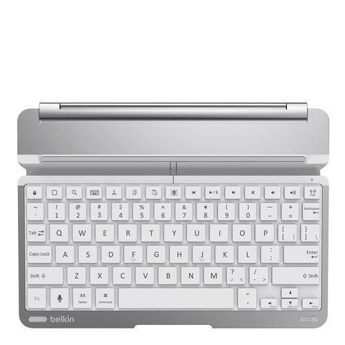 Belkin Qode ThinType Keyboard iPad Air silver front