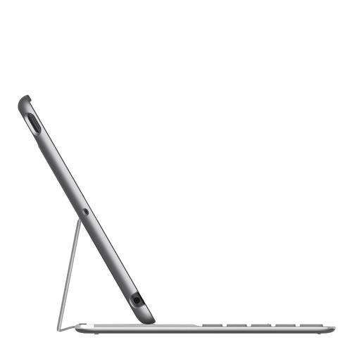 Belkin Qode Ultimate Keyboard iPad Air silver side