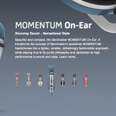 GearDiary Sennheiser MOMENTUM On-Ear Headphones Review