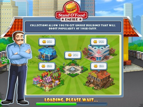 GearDiary Stand O' Food Empire Brings Freemium Time Management Fun to iPad!